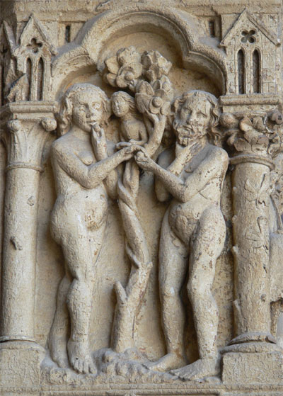Adam and Eve at Amiens