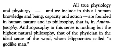Troxler on 'anthroposophy