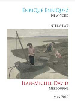 Enrique Enriquez interviews Jean-Michel David