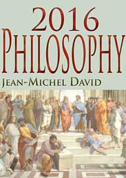 2016 philosophy course with Jean-Michel David