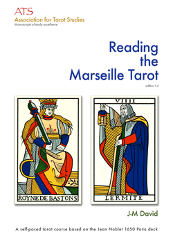 Reading the Marseille Tarot (book cover)