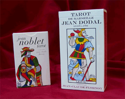 Noblet and Dodal tarot decks