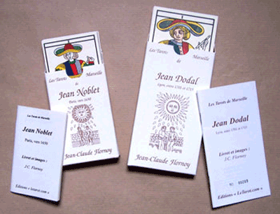 Noblet and Dodal hand made tarot decks