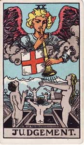 Waite-Smith Tarot Judgement Card