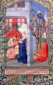 Boethius Consolation of Philosophy - Wheel of Fortune