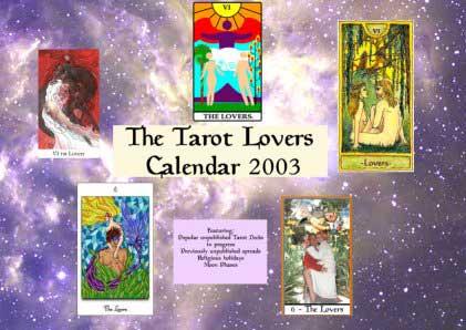 2003 Tarot Lovers Calendar