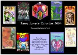 2004 Tarot Lovers Calendar