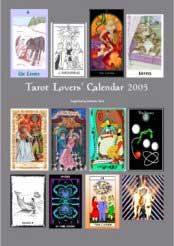 2005 Tarot Lovers Calendar