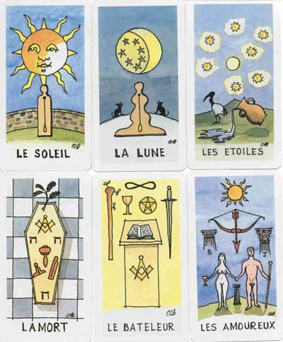 Square and Compasses Tarot - Freemasonry and Tarot