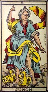 Arnoult tarot II Junon (Papesse)