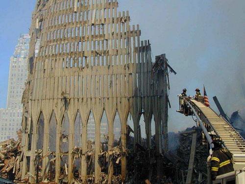 9/11 ruins