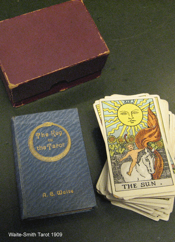 Waite-Smith Tarot deck and Waite's book