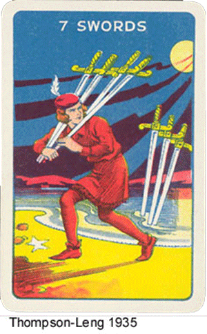 Thomson-Leng Waite-Smith type Tarot deck
