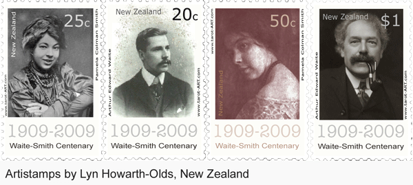 Tarot stamps New Zealand