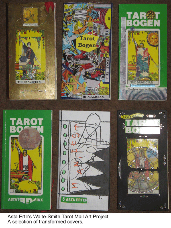 Asta Erte Waite-Smith Tarot project