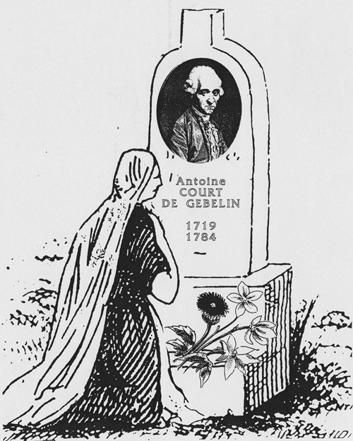 grave of Comte de Gebelin
