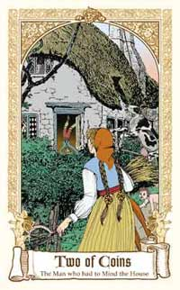 Fairytale Tarot - Two of Coins