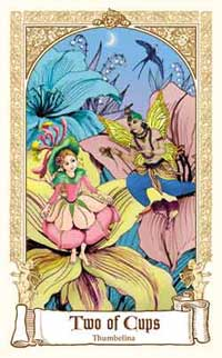 Fairytale Tarot - Two of Cups