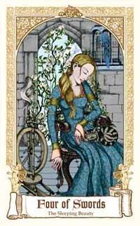 Fairytale Tarot - Four of Swords