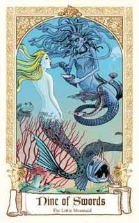 Fairytale Tarot - nine of Swords